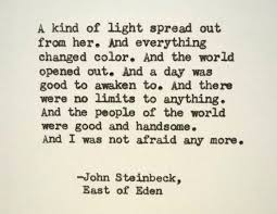 JOHN STEINBECK East Of Eden Quote Made On Typewriter Just To Quote Magnificent Steinbeck Quotes