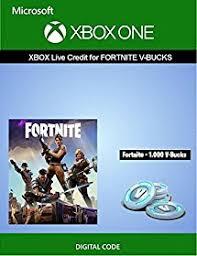 xbox live credit for fortnite 1 000 v bucks xbox one digital code