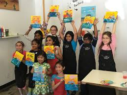 call us today to book your next party at 408 242 1744 or check out our web site for more information children s birthday painting parties