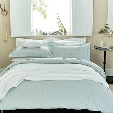 luxury duck egg bedding gingham check bed linen at bedeck 1951 pertaining to awesome house gingham duvet cover prepare