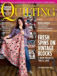 American Patchwork & Quilting Magazine - October 2016 - 014005142511 & American Patchwork & Quilting Magazine - October 2016 Adamdwight.com