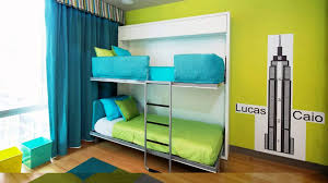 limited space furniture. choose blue and green beddings in modern space saving bunk beds for interesting teens bedroom limited furniture d