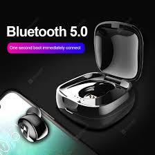 <b>RUNFENGTE</b> TWS <b>Bluetooth 5.0 Headset</b> TWS Binaural Stereo HIFI ...