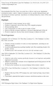 Unforgettable Part Time Sales Associates Resume Examples to Stand     Resume and Resume Templates