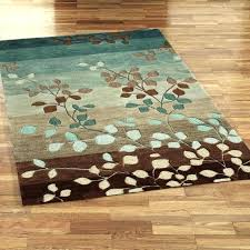 brown area rug rugs under solid 8x10 100 chocolate