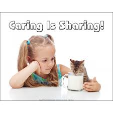 Caring Is Sharing!