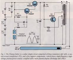 plasma saber plasma cutter wiring diagram however, when the two touch contacts are bridged (by the user through hand contact), the bias voltage appearing at the base of ql is pulled low