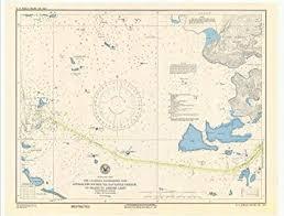Us Navy Nautical Charts Amazon Com Professionally Reprinted 18 X 24 Image Of 1943