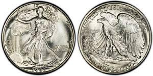 1916 1947 Walking Liberty Silver Half Dollar Value Coinflation