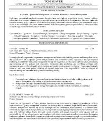Electrical Construction Project Manager Resume Sample Chief Project ...