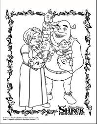 Small Picture Coloring Pages Photo Shrek Donkey Coloring Pages Images Shrek