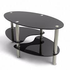 com virrea glass coffee table shelf chrome base living