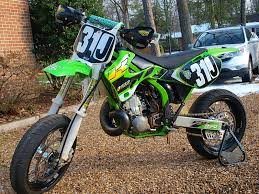 va 2001 kx 250 supermoto dirt setup honda tech honda