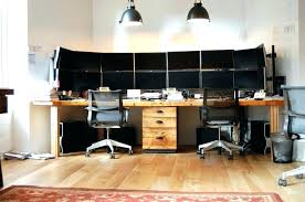 two desk home office. Home Office Ideas For Two Furniture 2 Person Desk  . Side