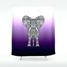 purple ombre shower curtain purple elephant shower curtain purple ombre ruffle shower curtain