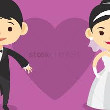 Cartoon Wedding Invitation Cards Designs Wedding Invitation Card Design Vector Image 1244220
