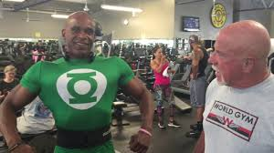 ric s morning workout in gold s gym north hollywood
