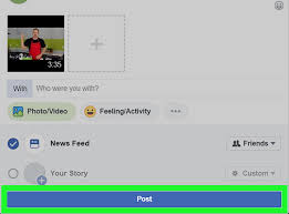 3 Ways To Post A Youtube Video On Facebook Wikihow