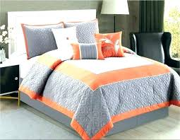 burnt orange bedding sets queen white and green light purple king size comforter