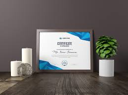 Corporate Certificate Template High Quality Elegant Corporate Certificate Template