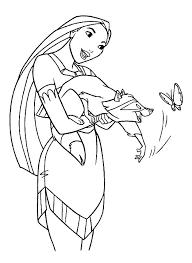 Small Picture Kids n funcom 16 coloring pages of Pocahontas