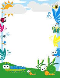Preschool Page Borders Preschool Page Border Under Fontanacountryinn Com