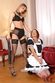 Housekeeper Sophie Lynx gets whipped by Aleska Diamond DDF Prod.