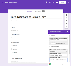 form to quickstart add on for google forms apps script google developers