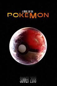 My poster idea for a live action Pokemon movie.: pokemon