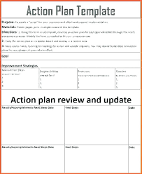 Action Plan Templete Inspiration Goal Action Plan Template Thalmusco