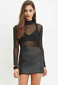 Forever 21 Quilted Faux Leather Skirt | Where to buy & how to wear & ... Forever 21 Quilted Faux Leather Skirt Adamdwight.com