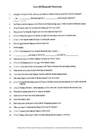 plymouth teaching resources teachers pay teachers  of plymouth plantation by william bradford complete guided reading worksheet