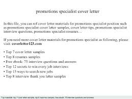 Sample Cover Letter Promotion Sample Cover Letter For Internal