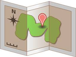 Map Trifold Clip Art At Clker Com Vector Clip Art Online