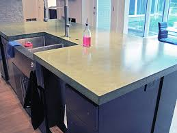 high gloss concrete countertop sealer for countertops solcrete llc