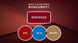 what colors make burdy burdy