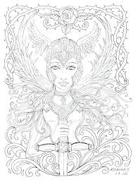 Printable Anime Coloring Pages Carriembeckerme