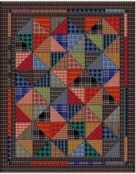 Quilting Memories: Quilts Made From Plaid Shirts | Plaid, Shirt ... & Quilting Memories: Quilts Made From Plaid Shirts Adamdwight.com
