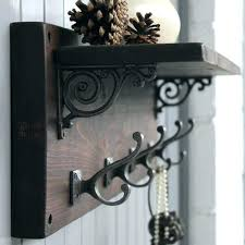 full size of wall mounted coat rack with bench and rustic shelf bedrooms surprising fascinating large