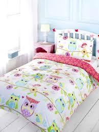 wonderful cot bed duvet cover sets boys home house design magnificent owl friends cot bed duvet