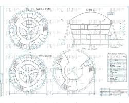 Скачать бесплатно дипломный проект ПГС Диплом № Бизнес центр  Планы 2 3 и 4 го этажей разрез jpg