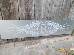 front door kick plateMonogrammed Front Door Kick Plate  Deck the Door Decor