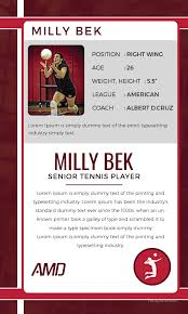 free trading card template free volley ball trading card template in adobe photoshop