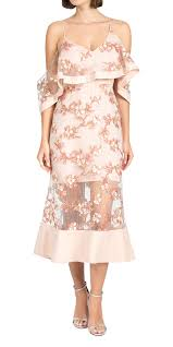 Alice Mccall Size Chart Alice Mccall Off The Shoulder Ruffled Dress Cocktail Dress