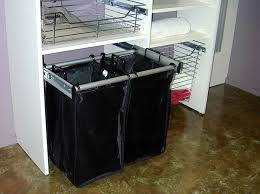 Pull-out Laundry Hamper traditional-closet