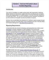 Facilities Management Report Template Weekly Free Incident Templates ...
