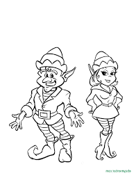 Elf Coloring Pages Printable J3kp Free Printable Elf Coloring Pages