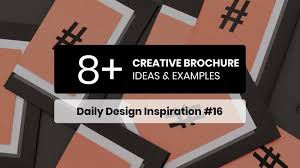 One Page Brochure Design Inspiration 8 Creative Brochure Design Ideas Examples Daily Design