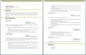 Writing An Effective Resume Luxury Resume Template Pdf The Best Way