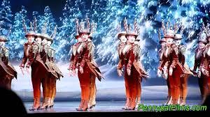 2011 Radio City Christmas Show Rockettes Reindeers Youtube